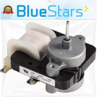Ultra Durable W10189703 Evaporator Fan Motor Replacement Part by Blue Stars - Exact Fit for Whirlpool Maytag Kenmore Refrigerators - Replaces WPW10189703 W10208121 2219647 AP6016598