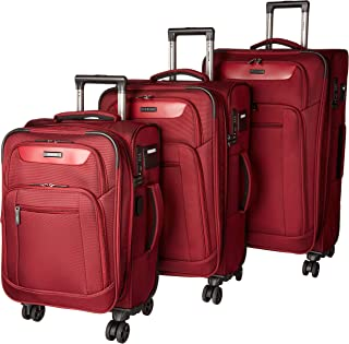 Dejuno Executive 3-Piece Spinner Luggage Set with USB Port