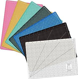 A2 Cutting Mat (600 x 450 mm) 透明 カッターマット カッター 厚さ2.5mm (ホワイト)
