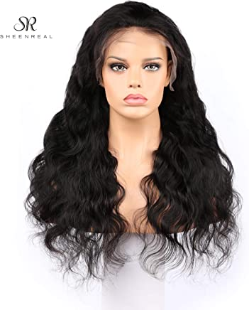 d0bfd49c2 Body Wave Lace Front Wigs Human Hair 180% Density Glueless Brazilian Remy  Wavy Human Hair
