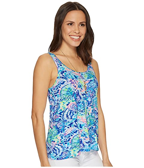 Lilly Pulitzer Knit Pajama Tank Top Multi Ocean Commotion Buy Cheap Really For Sale Online Store Cheap Online Store cTLYPYrl