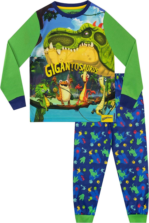 Gigantosaurus Boys Pajamas Dinosaur Multicolored 4
