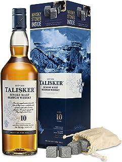 Talisker 10YO mit Whisky Steinen Single Malt Whisky 1 x Giftpack