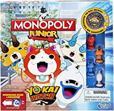 Hasbro B6494 Monopoly Junior: Yo-kai Watch Edition