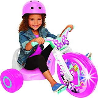 "Minnie 15"" Fly Wheel Junior Cruiser, 1 Ride-on, Ages 3-7, Pink/White, 20"" W x 22.5"" H x 32.83"" L"