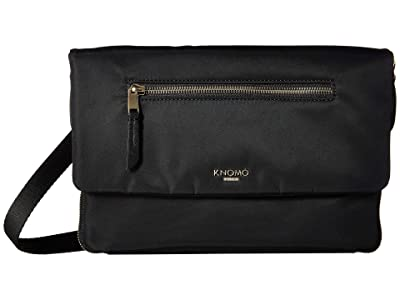 KNOMO London Mayfair Elektronista Digital Clutch Bag (Black) Clutch Handbags