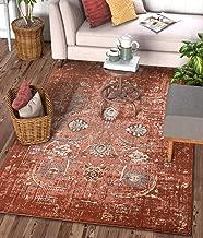 Well Woven Elle Copper Persian Vintage Shiraz 8x11 (7'10'' x 10'6
