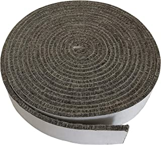 """KAMaster High Temp Grill Gasket Replacement Fit Large/XLarge Big Green Egg BBQ Smoker Gasket Pre-Shrunk Accessories Self Stick Felt 14ft Long, 7/8"""" Wide, 1/8"""" Thick"""