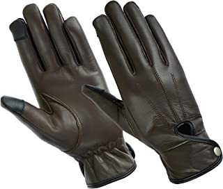 Ladies Water Resistant Leather Driving Glove, Motorcycles, Casual Wear, Second Skin Fit Unlined Glove