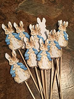New...Peter Rabbit Classic Edition Cupcake Toppers - 12 Toppers