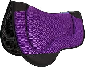 Professional Equine Horse Western Endurance Contoured Neoprene Saddle Pad Purple 39188