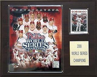 MLB Phillies 2008 World Series Champions Plaque
