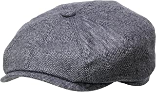 Stetson Hatteras Cashmere Yarn Flat Cap Men - Made in Germany
