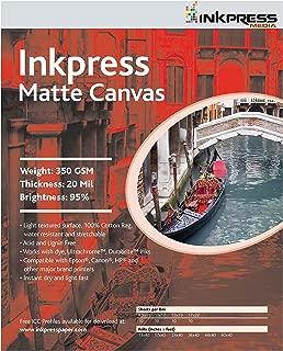 Best inkpress matte canvas Reviews