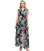 Taylor Chiffon/Jersey Maxi Dress