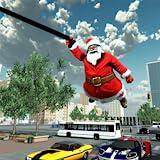 Crime City Simulator Santa Rope Hero