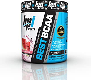 BPI Sports -BCAA Powder, Watermelon Ice, 10.58 Ounce