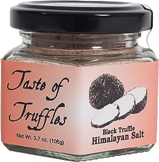Sponsored Ad - Black Truffle Himalayan Pink Salt   Gourmet Food Condiments   (wt. 3.7 oz/105 gr.)