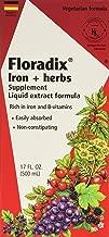 Floradix Iron + Herbs, 17 oz (Pack of 2)
