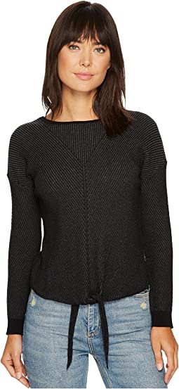 Lucky Brand - Tie Front Sweater