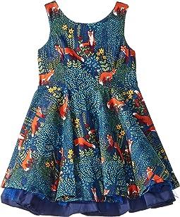 Fox Fashionista Dress (Toddler/Little Kids)