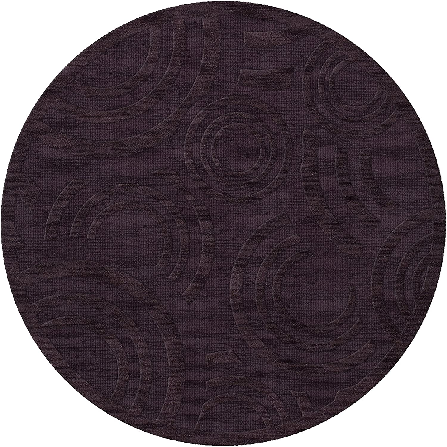 SEAL limited product Dalyn Max 66% OFF Rugs Dover DV3 Rug 12' Grape Ice Round