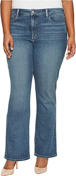 NYDJ Plus Size - Plus Size Barbara Bootcut Jeans in Heyburn Wash