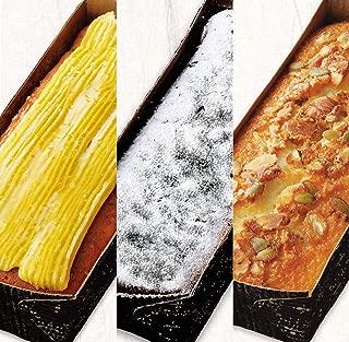 パッコビアンコ モンドセレクションを受賞した3種類のパウンドケーキ特別セット ガトーフィナンシェとクラシックショコラとスイートフロマージュ
