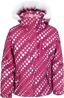 Trespass Ameera Girls Waterproof Hooded Winter Coat Warm Winter Kids Ski Jacket