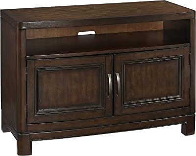 Home Styles Furniture Crescent Hill TV Stand by Home Styles, 44-Inch, Tortoise Shell Two-tone Finish