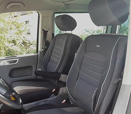 seatcovers by k-maniac Seat Covers T5 T6 T6.1 Multivan California Estate Caravelle Transporter Box Elite Driver Seat Armrests Black Anthracite T11 : Amazon.de: Automotive