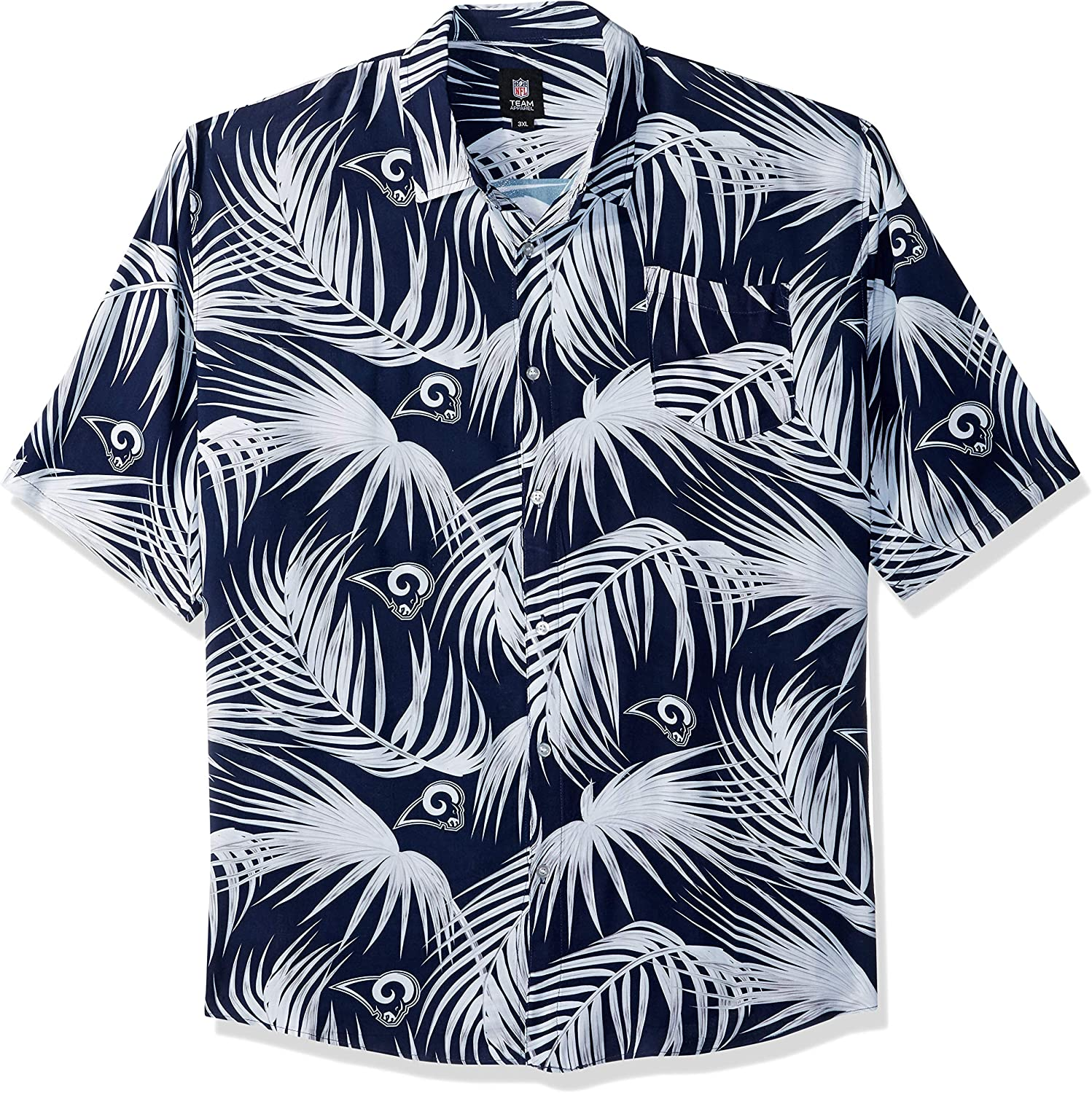 Ranking Outlet ☆ Free Shipping TOP7 FOCO Men's NFL Floral Tropical Button Shirt Up