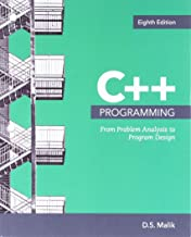 Bundle: C++ Programming:  From Problem Analysis to Program Design, Loose-leaf Version, 8th + MindTap Computer Science, 1 term (6 months) Printed Access Card