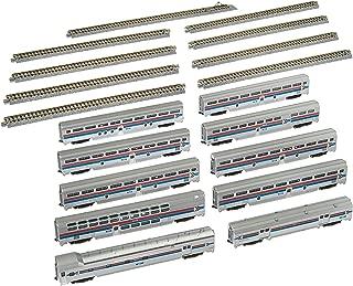 Kato USA Model Train Products Amtrak El Capitan Car Set with Display Unitrack, 10-Piece