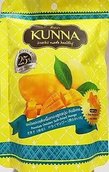 2 Packs Premium Golden Soft Dried Mango Kunna No Cholesterol Zero Gram Trans Fat Less Sugar