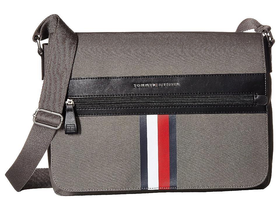 Tommy Hilfiger Icon Messenger Canvas (Castlerock) Messenger Bags