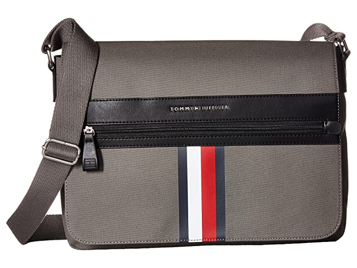 107dc9ea2f Tommy Hilfiger Icon Messenger Canvas at 6pm