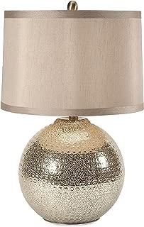 Imax Bolton Mercury Glass Lamp