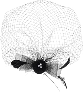 Best black birdcage headpiece Reviews