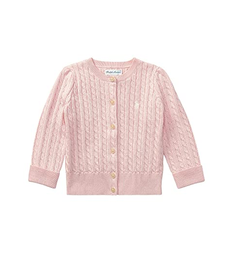 bff0afb5035c Ralph Lauren Baby Mini Cable Sweater (Infant) at Zappos.com