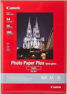 Canon 1686B021 - Papel fotográfico A4 (20 hojas 260 gramos semi-brillante)