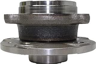 Detroit Axle - 4-Bolt Flange Front Wheel Hub and Bearing Assembly for Volkswagen CC, Golf, Jetta, Passat, Rabbit 5 Lug - 513253