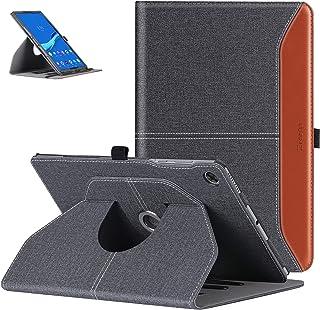 ZtotopCase Schutzhülle für Lenovo Tab M10 FHD Plus 10,3 Zoll 2020, um 360° drehbar, mit automatischer Weckfunktion/Schlaffunktion für Lenovo Tab M10 Plus TB X606F, Denim, Schwarz