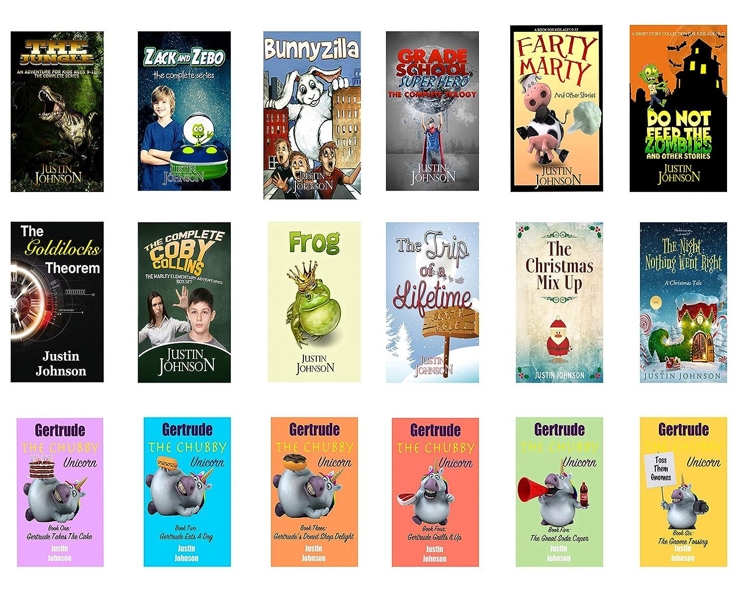 関税すごいオフェンスBooks for Kids: 18 Full Length Books for Kids Ages 8-12: Kids Chapter Book, Kids Fantasy Book, Kids Mystery Book, Kids Funny Book, Kids Free Stories, Kids ... Ages 6-8, 7-9, 8-10, 9-12 (English Edition)