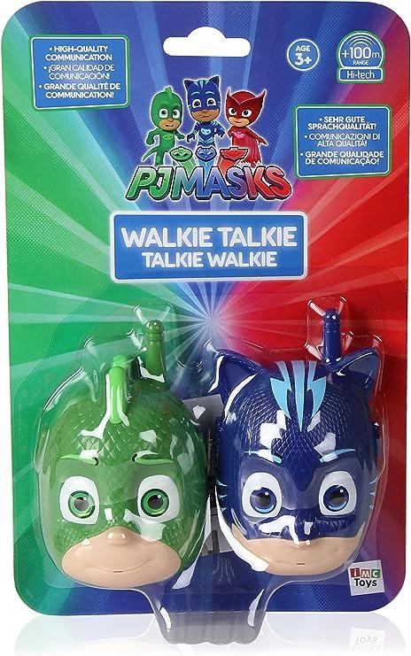 Pj Mask- PJ Masks Walkie Talkie, Color verde/azul (IMC Toys 273030)