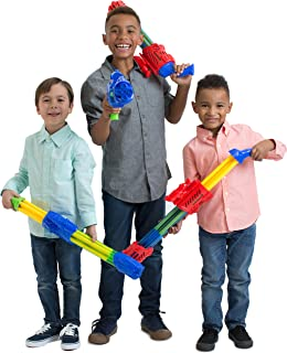 Boley 4 Pack 5 Barrel Water Soaker Blasters- Powerful Long ranged Water Guns - Great Soaker for Fun Endless Pool Water Parties