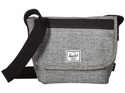 Herschel Supply Co. Grade Mini (Raven Crosshatch) Messenger Bags