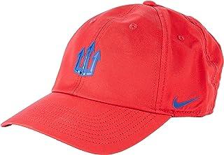Nike Unisex's ATM U NK DRY H86 CAP TRIDENT Hat, Sport red/(Coastal Blue), MISC