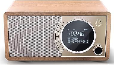 SHARP DR-450 (BR) DAB, DAB+ Digitalradio, Bluetooth, FM Radio, Alarm-/Schlaf und..