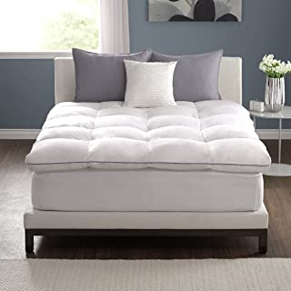 Pacific Coast Deluxe Baffle Box Mattress Topper 230 Thread Count 100% Feathers - Queen